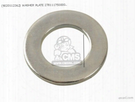(9020112362) Washer Plate 278111750000