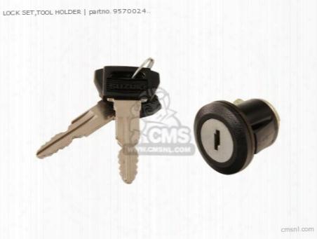(95700-24831) Lock Set,tool Holder
