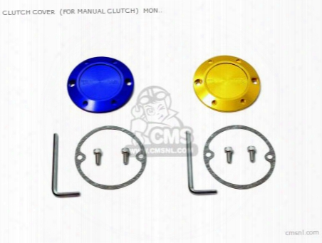 Clutch Cover (for Manual Clutch) Monkey /r/rt/baja,gorilla (gold