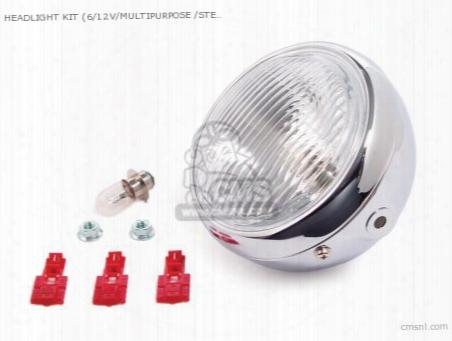 Headlight Kit (6/12v/multipurpose /steel ) Instllation Width 145