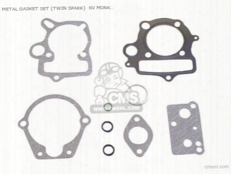 Metal Gasket Set (twin Spark) 6v Monkey/ Gorilla)50 Super Head