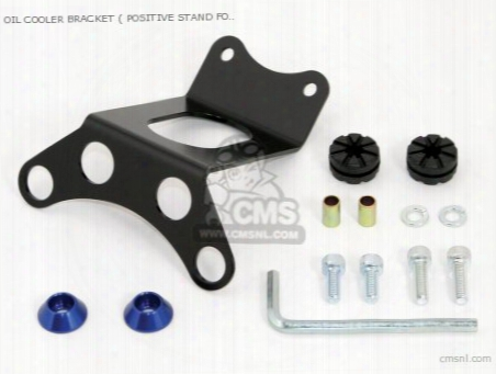 Oil Cooler Bracket ( Positive Stand Fork ) Monkey (blue ) Cannot