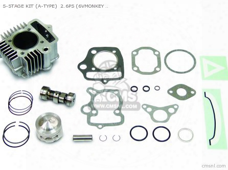 S-stage Kit (a-type) 2.6ps (6vmonkey ?gorilla ) 88cc