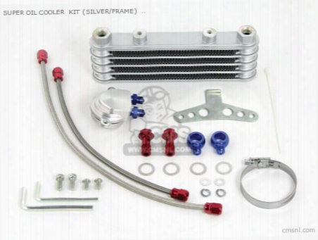 Super Oil Cooler Kit (silver/frame) Monkey ,gorilla (for Spl/