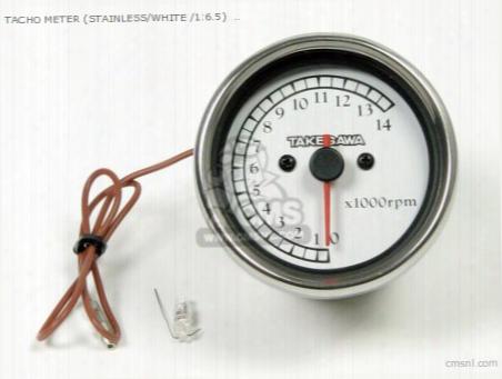 Tacho Meter (stainless/white /1:6.5) Meter Kit Repair Parts