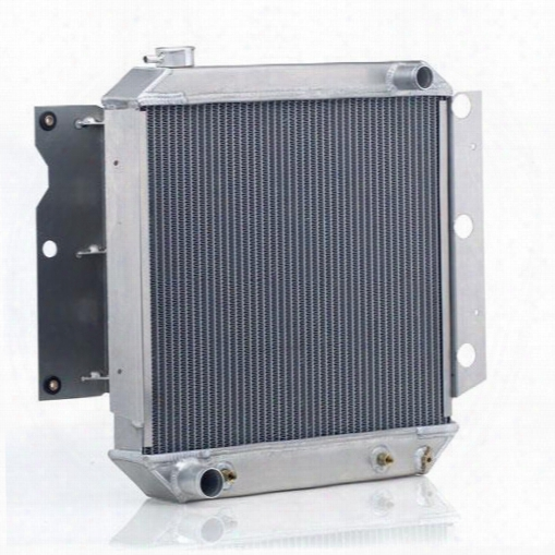 Be Cool Be Cool Dual Core Radiator Module Assembly For Amc 4 Or 6 Cylinder Engines With Automatic Transmission - 83242 83242 Radiator