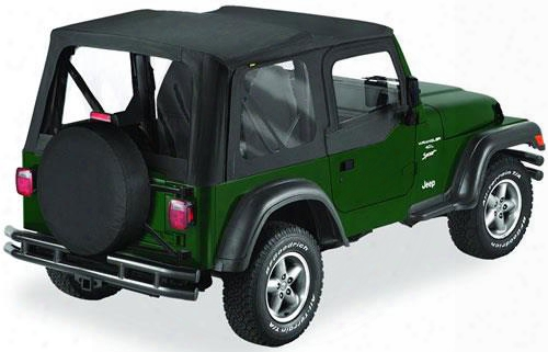 Bestop Replace-a-top W/ Clear Windows Black Diamond 51128-35 Soft Tops