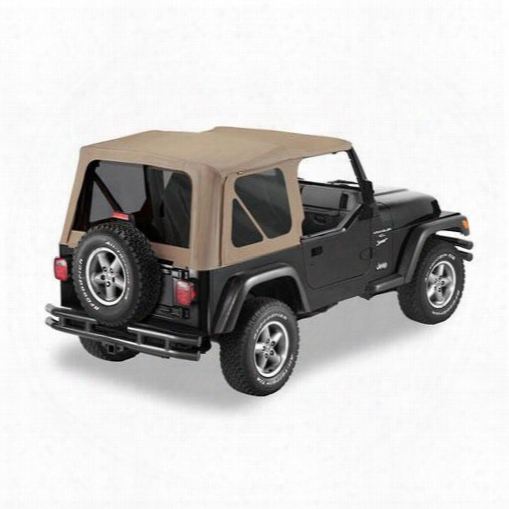 Jeep Tj Bestop Replace-a-top W/ Tinted Windows Dark Tan - Soft Tops