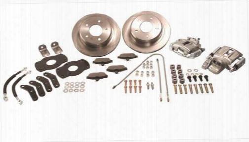 Stainless Steel Brakes Stainless Steel Brakes Disc Brake Conversion Kit (natural) - A128-4 A128-4 Disc Brake Conversion Kits