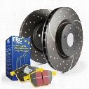 EBC Brakes EBC Brakes S5 Kits yellowstuff And GD Rotors - S5KF1526 S5KF1526 Disc Brake Pad and Rotor Kits
