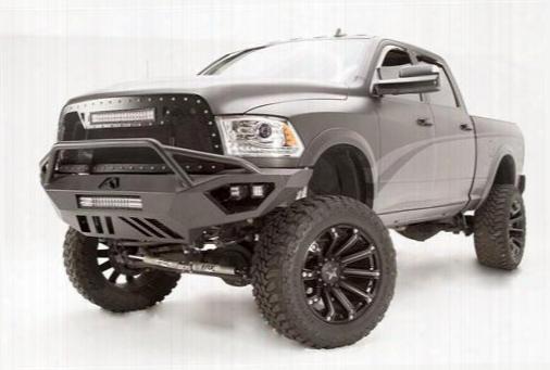 2010 Dodge Ram 3500 Fab Fours Vengeance Pre-runner In Black Powdercoat