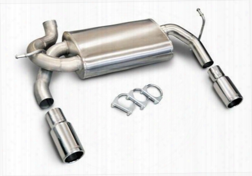 2010 Jeep Wrangler (jk) Corsa Performance Exhaust Axle Back Dual Exhaust System