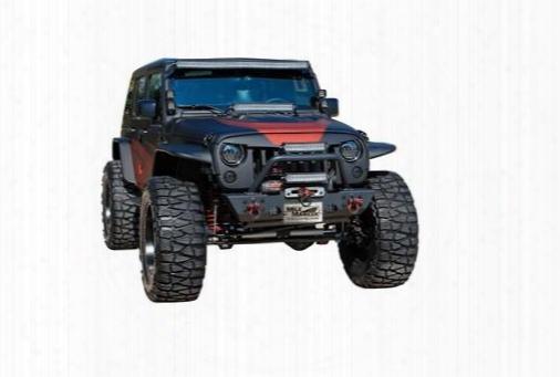 2010 Jeep Wrangler (jk) Mile Marker Winch Style Front Bumper