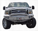 2005 FORD F-350 SUPER DUTY Road Armor Front Stealth Winch Bumper Pre-Runner Round Light Port in Satin Black