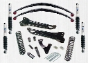2010 FORD F-250 SUPER DUTY Pro Comp Suspension 8 Inch Stage II Lift Kit with MX-6 Shocks