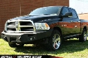 2013 DODGE 1500 Fab Fours Winch Bumper with No Guard