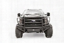 Fab Fours Fab Fours Replacement Front Bumper with Full Guard (Bare) - FS17-Q4160-B FS17-Q4160-B Front Bumpers