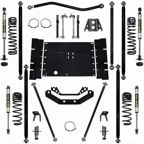 2004 Jeep Wrangler (lj) Rock Krawler 2.0 Inch Off-road Pro Long Arm System With 4 Inch Stretch - Stage 1