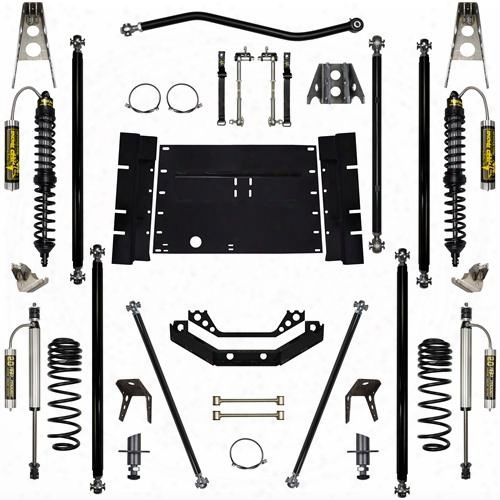 2004 Jeep Wrangler (lj) Rrock Krawler 3.5 Inch Coil Over Off-road Pro Long Arm System With 4 Inch Stretch - Stage 2