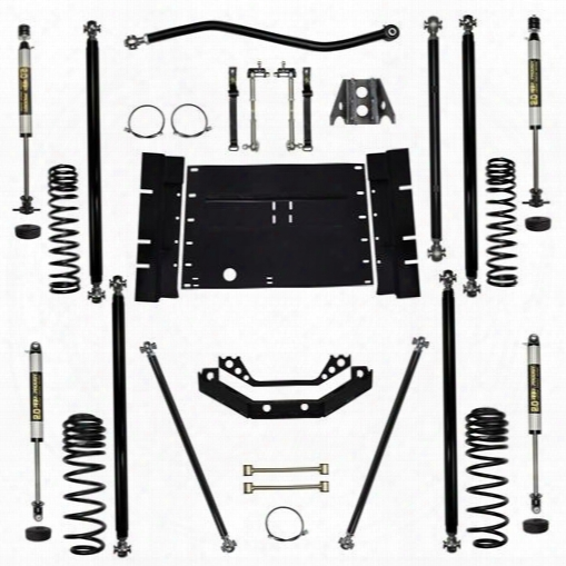 2004 Jeep Wrangler (lj) Rock Krawler 3.5 Inch Off-road Pro Long Arm System - Stage 1