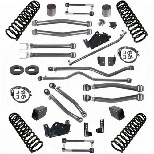 2010 Jeep Wrangler (jk) Synergy Manufacturing Stage 3 Suspension System, 4 Inch Lift Kit