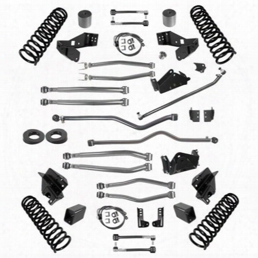 2010 Jeep Wrangler (jk) Synergy Manufacturing Stage 4 Long Arm Suspension System, 4-4.5 Inch Lift Kit