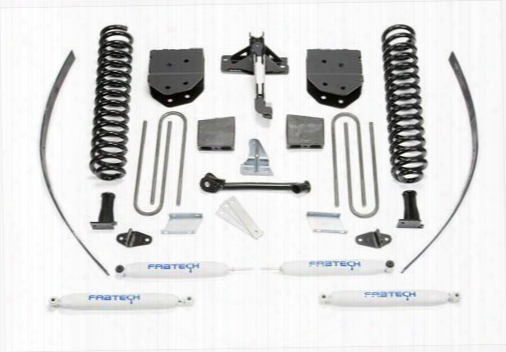 2013 Ford F-250 Super Duty Fabtech 8 Inch Basic Lift Kit W/performance Shocks