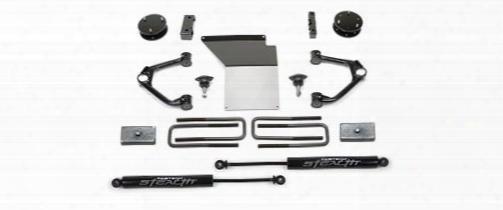 2014 Chevrolet Silverado 1500 Fabtech 4 Inch Budget Lift Kit W/stealth Shocks