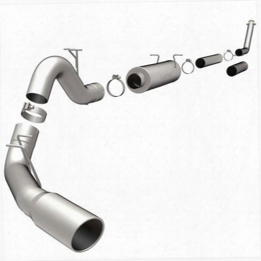 Magnaflow Exhaust Magnaflow Xl Series Turbo Back Diesel Exhaust System - 15924 15924 Exhaust System Kits