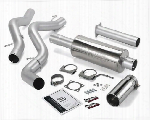 2001 Chevrolet Silverado 3500 Banks Power Monster Exhaust System