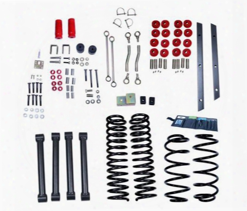 2002 Jeep Wrangler (tj) Rugged Ridge 4 Inch Orv Suspension Lift Kit