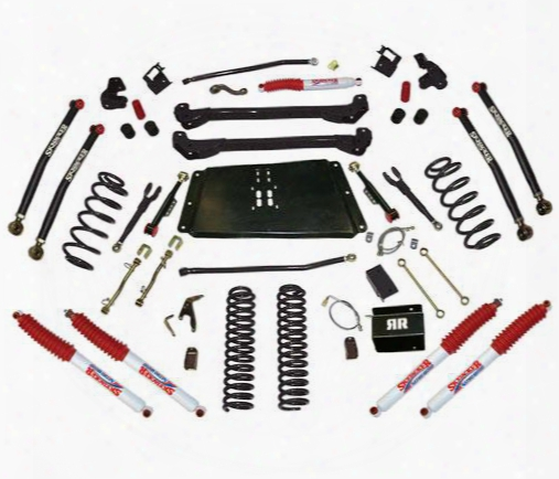 2002 Jeep Wrangler (tj) Skyjacker 8 Inch Bent Long Arm Lift Kit With Nitro Shocks