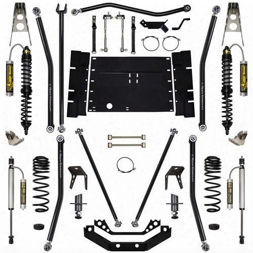 2004 Jeep Wrangler (lj) Rock Krawler 5.5 Inch Coil Over Long Arm System With 4 Inch Stretch- Stage 2