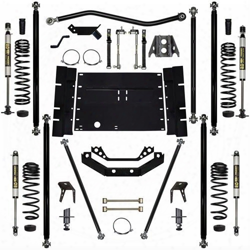2004 Jeep Wrangler (lj) Rock Krawler 5.5 Inch Off-road Pro Long Arm System With 4 Inch Stretch - Stage 1