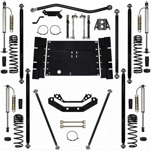 2004 Jeep Wrangler (lj) Rock Krawler 5.5 Inch Off-road Pro Long Arm System - Stage 2