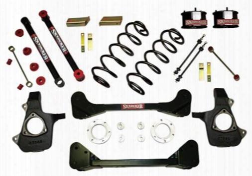 2008 Chevrolet Tahoe Skyjacker 4 Inch Suspension Lift Kit W/m95 Shocks