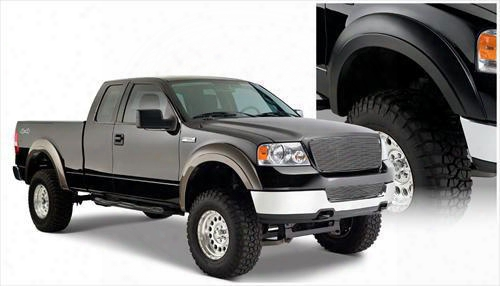 2008 Ford F-150 Bushwacker Ford/lincoln Extend-a-fender Flare Set