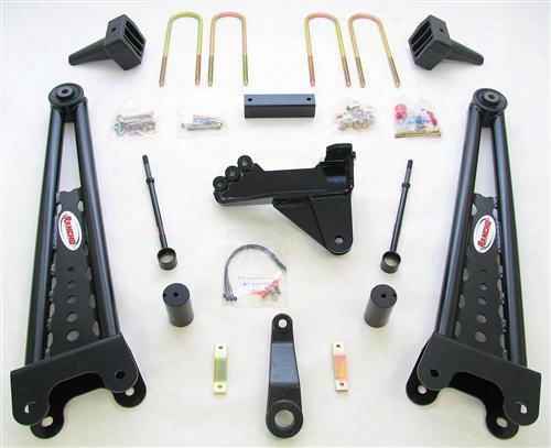 2008 Ford F-250 Super Duty Rancho 4 Inch Lift Kit With Rs5000 Shocks