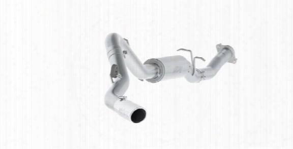 2010 Chevrolet Silverado 2500 Hd Mbrp Cat Back Single Side Exit Exhaust System