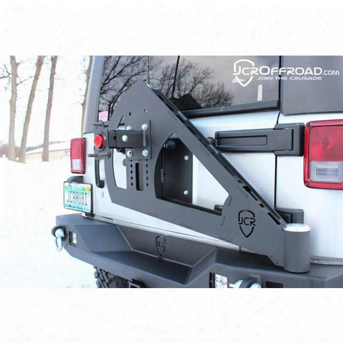 2010 Jeep Wrangler (jk) Jcroffroad Tire Carrier Shield Gate