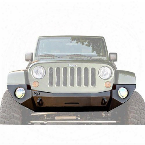 2010 Jeep Wrangler (jk) Rock Slide Engineering R-se Rigid Full Front Bumper Without Bullbar