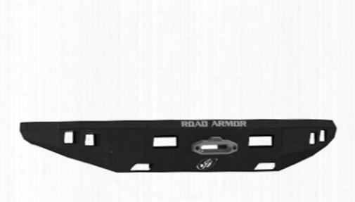 2013 Ford F-150 Road Armor Front Stealth Winch Illuminator Bumper Square Light Port In Satin Black