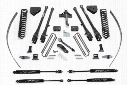 2013 FORD F-250 SUPER DUTY Fabtech 8 Inch 4 Link Lift Kit w/Stealth Shocks