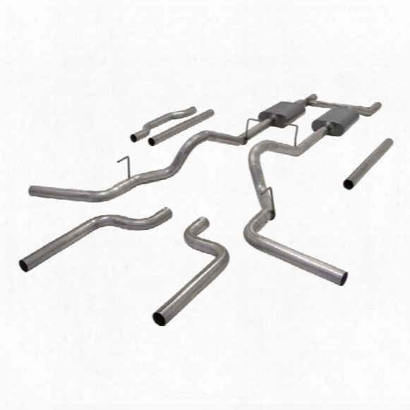 1987 Chevrolet R20 Pickup Flowmaster Exhaust American Thunder Header Back Exhaust System