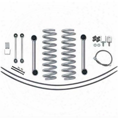 1996 Jeep Cherokee (xj) Rubicon Express 3.5 Inch Super-ride Short Arm Lift Kit With Rear Add-a-leafs - No Shocks