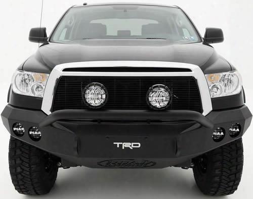 2009 Toyota Tundra Road Armor Front Stealth Winch Bumper Pre-runner Round Light Port In Satin Black