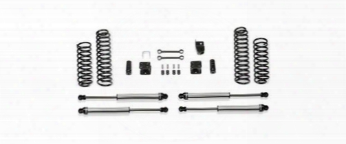 2010 Jeep Wrangler (jk) Fabtech 3 Inch Budget Lift Kit W/dirt Logic Ss Shocks