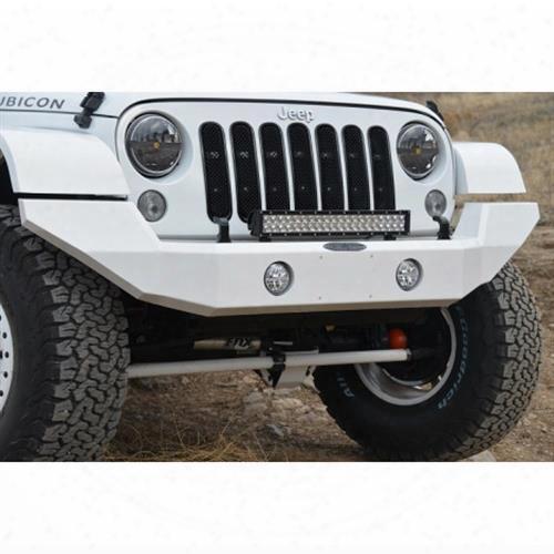 2010 Jeep Wrangler (jk) Rock Slide Engineering Sleek Line Front Bumper