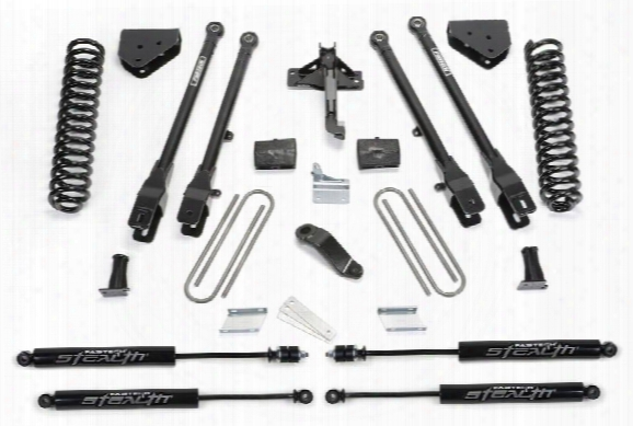 2011 Ford F-550 Super Duty Fabtech 6 Inch 4 Link Lift Kit