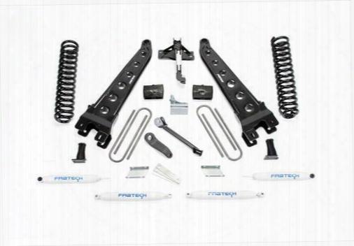 2011 Ford F-550 Super Duty Fabtech 6 Inch Radius Arm Lift Kit W/performance Shocks